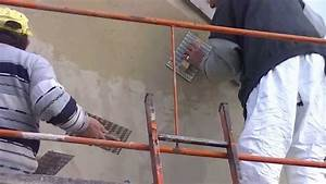 realiser un crepis mural exterieur youtube With faire un crepis exterieur