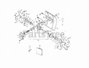Cub Cadet Parts On The Cultivator Assembly Diagram For 535