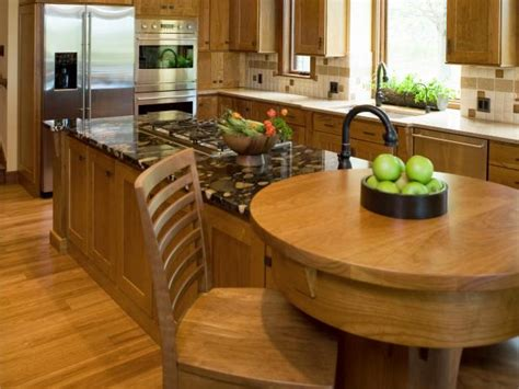 built in kitchen island kitchen island breakfast bar pictures ideas from hgtv 4990