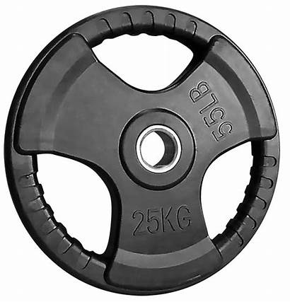 Weight 25kg Plates Plate Rubber Olympic Coated