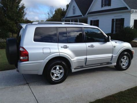 Mitsubishi Montero Limited 2003 by Buy Used 2003 Mitsubishi Montero Limited 20th Anniversary