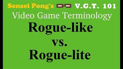 roguelike roguelite vs