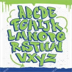 Graffiti Alphabet Letter Templates