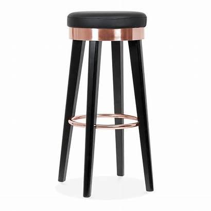 Stool Bar Copper Metal Wooden Stools Ring