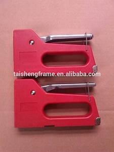 Plastic Stapler Manual Staple Gun 1008f For Framing Work