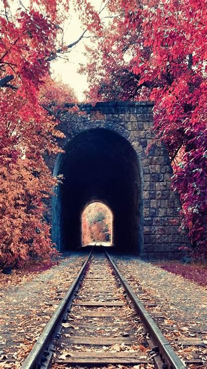 Portrait Nature Armenia Wallpapers Display Tunnel Railway