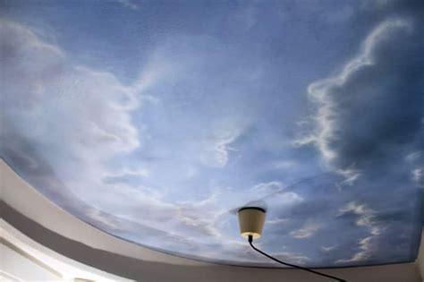 Kinderzimmer Wandgestaltung Himmel by Deckenmalerei Als Himmel Mit Wolken Florian Geyer