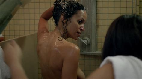 Claire Dominguez Nude Orange Is The New Black 2014