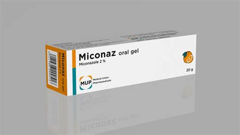 Miconaz Oral Gel Medical Union Pharmaceuticals