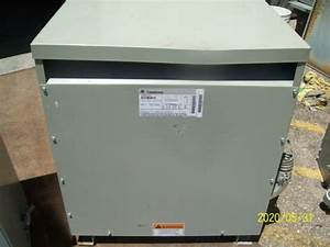 Ge Step Down Transformer 480v To 208v  120v 75 0 Kva Type