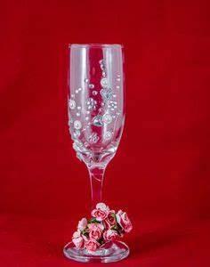Flûtes à Champagne Originales : ideas originales decoracion de copas para boda imponentes ~ Teatrodelosmanantiales.com Idées de Décoration