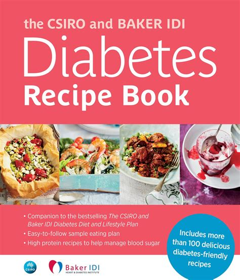 csiro  baker idi diabetes recipe book penguin