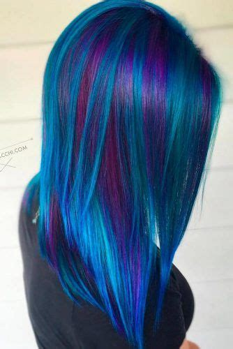 Best 25 Blue Purple Hair Ideas On Pinterest Pink Purple
