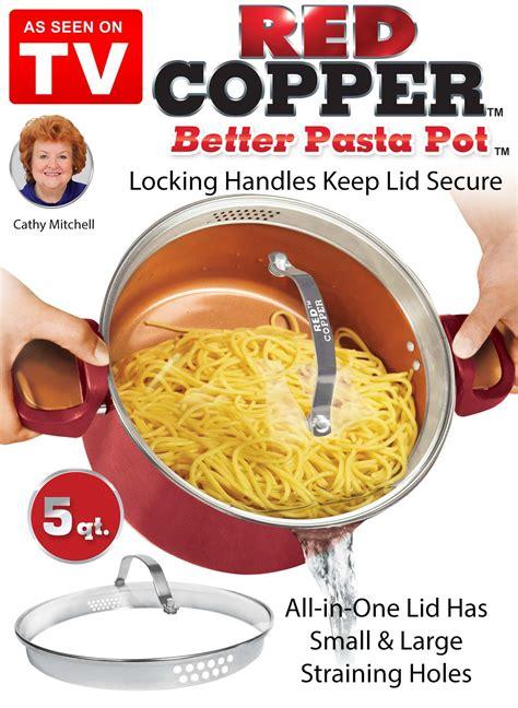 red copper  pasta pot drleonardscom