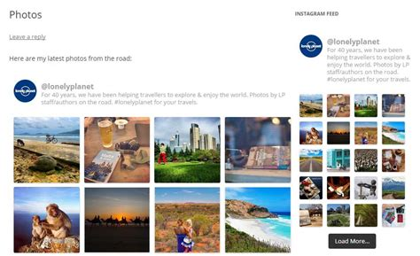 Display Photos From Instagram In Wordpress