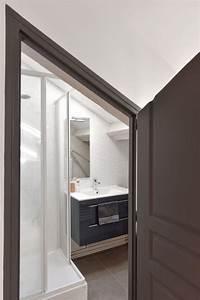 Appartement Sous Comble : salle de bain sous combles 5 exemples bien am nag s c t maison ~ Dallasstarsshop.com Idées de Décoration
