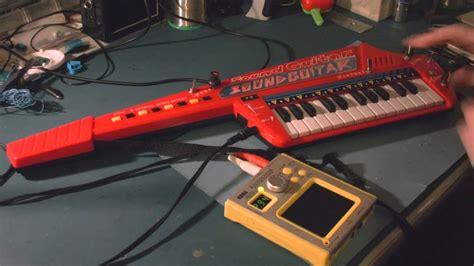 Circuit Bent Sound Guitar Keytar Freeform Delusion