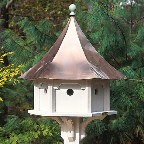 birdhouse  copper roof extra large premium construction