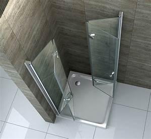 Falttür Mit Glas : 90 x 90 cm faltt r glas dusche duschkabine duschwand duschabtrennung eckeinstieg ebay ~ Sanjose-hotels-ca.com Haus und Dekorationen