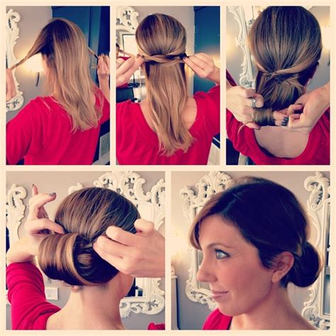 easy step  step updo diy hairstyle alldaychic