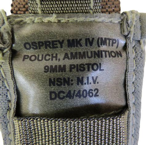 british army mtp mm pistol ammo pouch