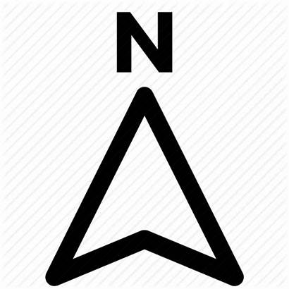 Map Compass Arrow North Direction Icon Navigation