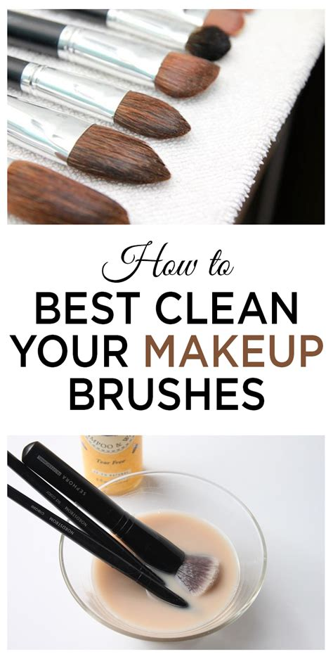How To Best Clean Your Makeup Brushes  Wrapped In Rust