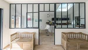 Fenetre Interieure Dans Cloison : verri re d 39 int rieur type atelier macoretz agencement ~ Melissatoandfro.com Idées de Décoration