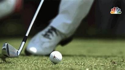 Golf Divot Impact Donald Luke Strike Happens