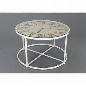 Table Basse Horloge : table basse horloge amadeus achat vente table basse table basse horloge amadeus soldes ~ Teatrodelosmanantiales.com Idées de Décoration