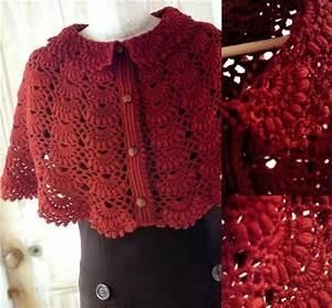 17 Best Images About Crochet Capes Short On Pinterest
