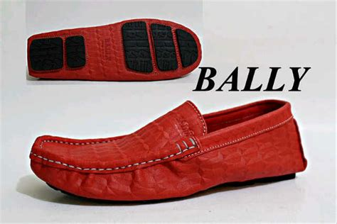 Sepatu Bally Mocasin Coklat jual sepatu kulit pria bally casual mocasin di lapak mul