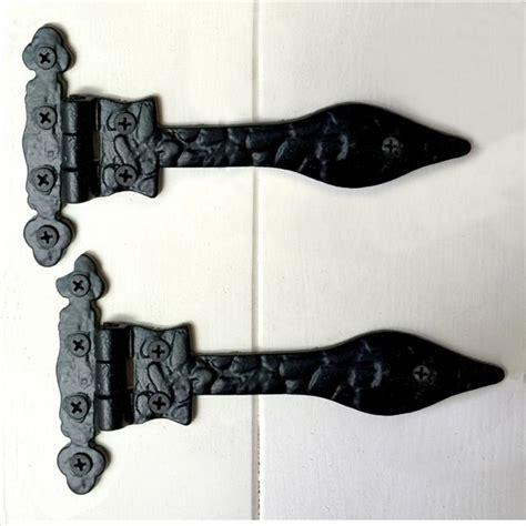 deur scharnier 2 x deur scharnieren deurband zwart borstband antieke