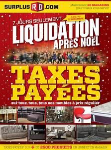 Surplus RD Liquidation D39aprs Nol Lesventesca