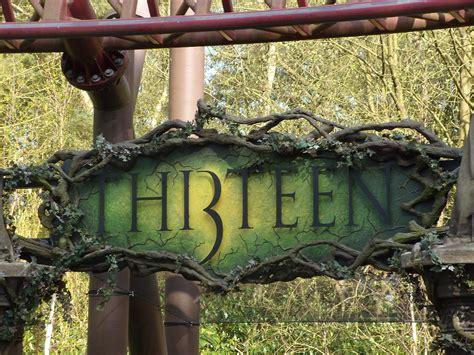Thirteen (roller coaster) - Wikipedia