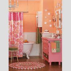 Trendy Colorful Kids' Bathrooms