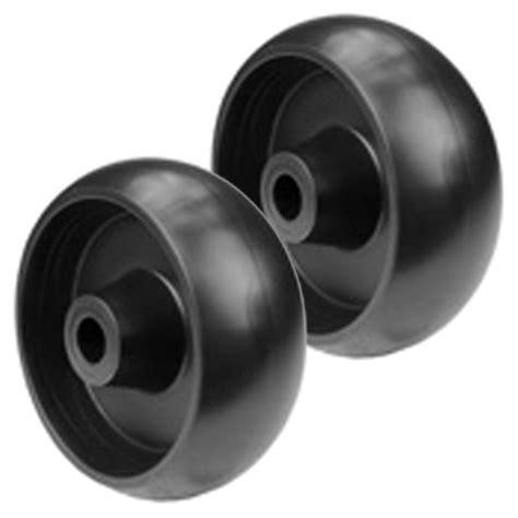 deere mower deck wheels set of 2 mower deck wheels replace deere gx10168 ebay