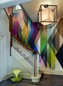 wandtapeten wohnzimmer wohnzimmer wandgestaltung ideen coole beispiele für tapetenmuster