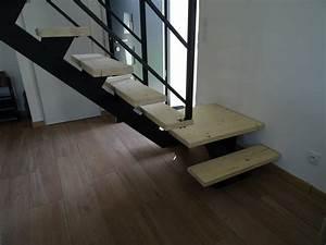 Marche Bois Escalier : escalier m tal ~ Voncanada.com Idées de Décoration