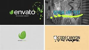 liquid paint logo reveal cartoons envato videohive With envato ae templates