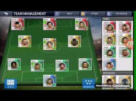 The Best Team In Dls 16 Youtube