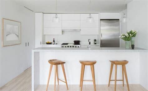 cuisine toute blanche couleur cuisine la cuisine blanche de style contemporain