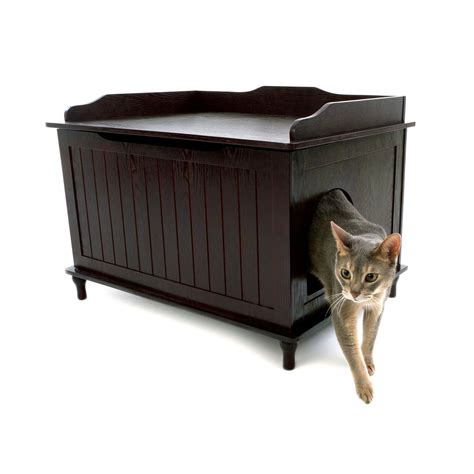litter box cabinet diy designer pet products dcb litter box enclosure atg stores