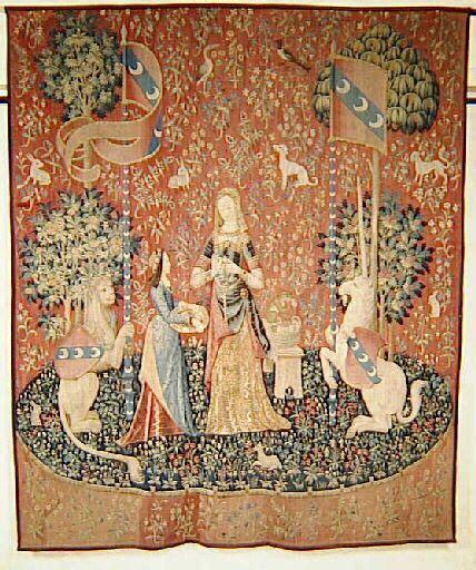La Dame à La Licorne Tapisserie by Dame 224 La Licorne L Odorat S 233 Ries Licorne