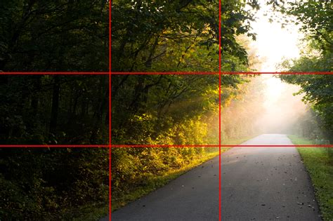rule  thirds   master photo composition