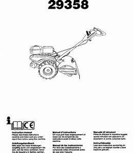 Craftsman 917293580 User Manual Rear Tine Tiller Manuals
