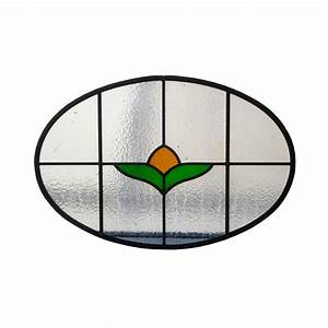 Simple Stained Glass Panel - From Period Home Style