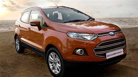 ford india issues recall  ecosport models