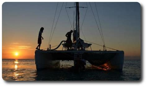 Negril Catamaran Cruise With Sunset At Rick S Cafe by Catamaran Sunset Cruise