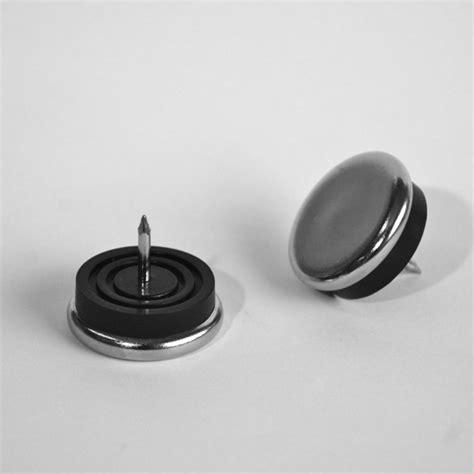 patin pour chaise patin de chaise de diamètre 30 mm en acier nickelé pour